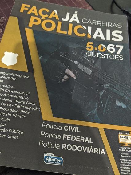 5067 Questões Carreiras Policiais Alfacon