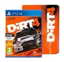 Dirt 4 Day One Edition Steelbook Para Ps4