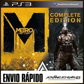 Metro Last Light + Todas Dlcs - Jogos Ps3 Midia Digital
