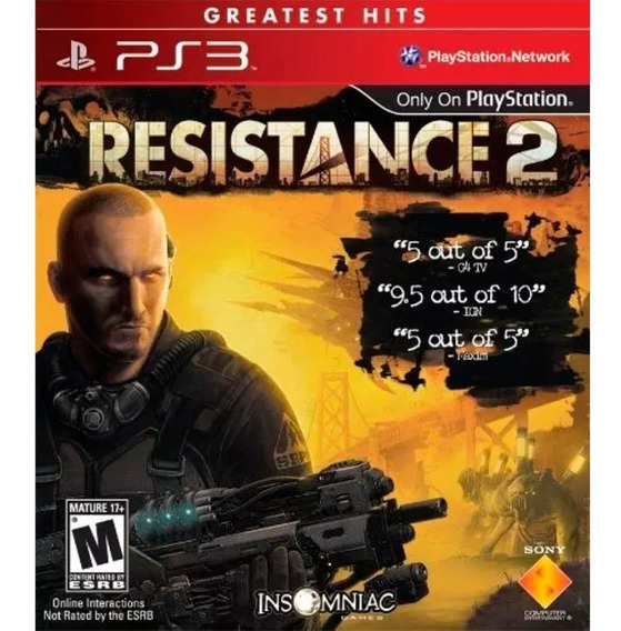 Game Ps3 Resistance 2 - Original - Novo - Lacrado