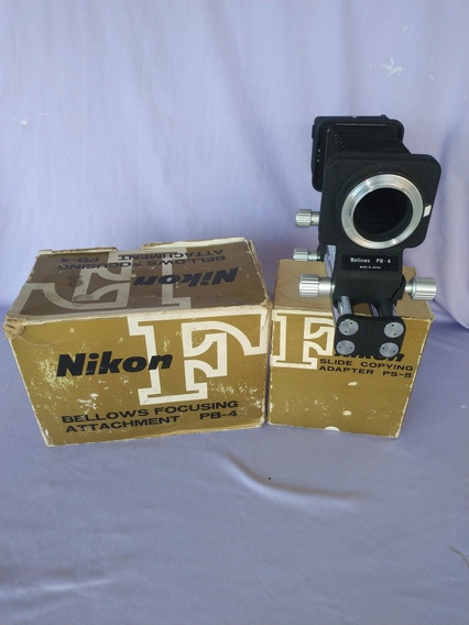Bellows Focusing Attachement Pb-4 - Nikon, Original