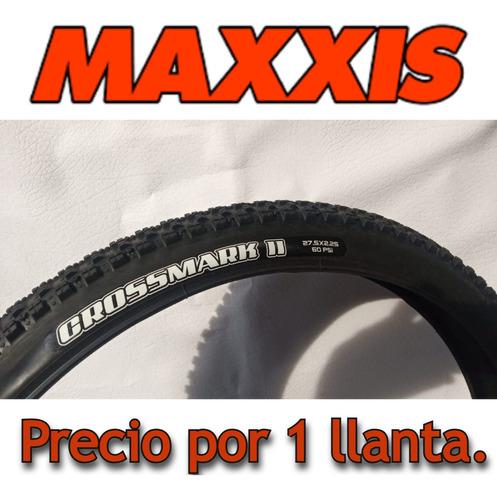 Imagen 1 de 10 de Llanta Maxxis Crossmark I I  27.5*2.25/ Talón Convencional.