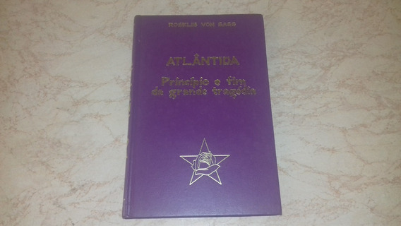 Livro Atlântida Príncipio E Fim Da Grande Tragédia