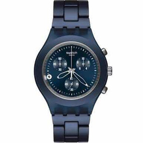 Relógio Swatch Full Blooded Smoky Blue - Svcn4004ag