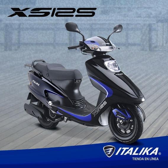 Moto Italika Xs125 Euro Iii + Tramite De Tarjeta Y Placa