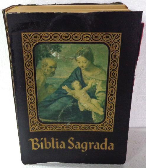 Bíblia Sagrada Edição Barsa Para Família Católica 1969 Rara