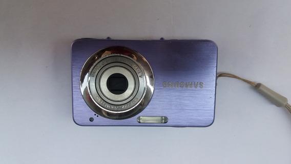 Câmera Digital Samsung St30 Miniatura 10.1 Megapixels Roxa
