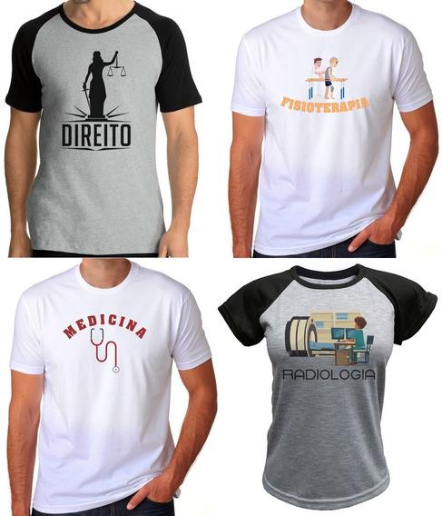 Camiseta Camisa Universitária Temos De Vários Cursos Faculdade Curso