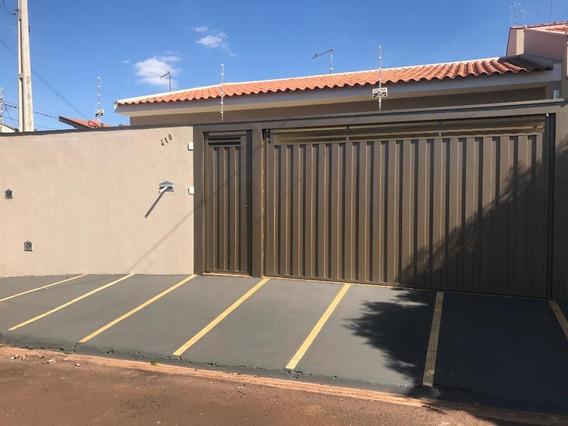 Casa Com 3 Dormitórios Para Alugar, 120 M² Por R$ 1.280/mês - Jardim Maria Imaculada Ii - Brodowski/são Paulo - Ca0771