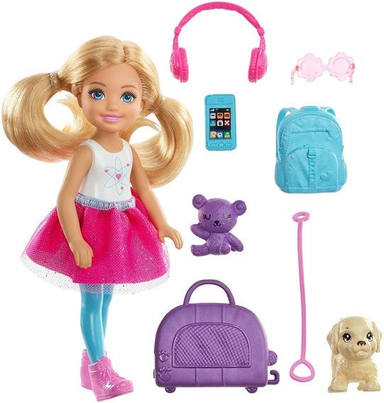 Boneca Barbie - Chelsea Viagem Fwv20