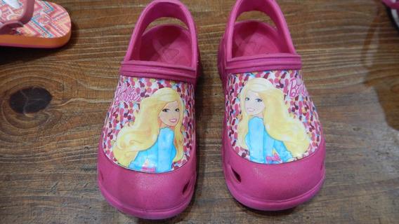 Zuecos De Goma Barbie!! Nro 25 Hermosas!