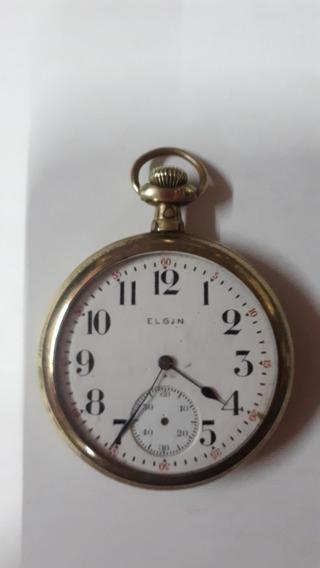 Reloj El Gin De Chapa Oro No Trabaja