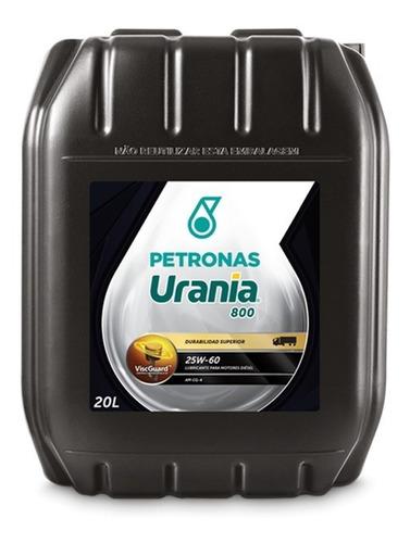 Imagen 1 de 3 de Lubricante Aceite Urania 800 25w60 20lts
