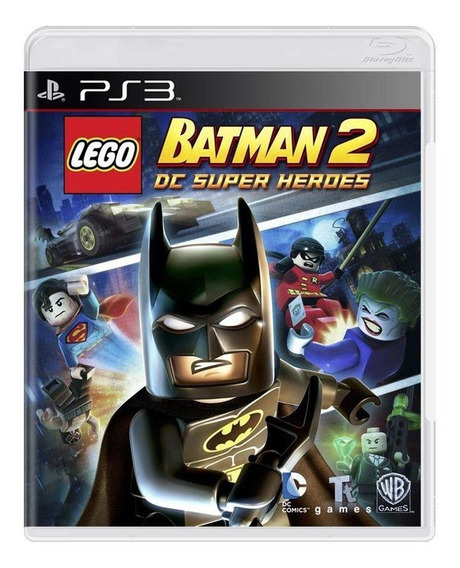 Lego Batman 2 Dc Super Heroes Ps3 Mídia Física