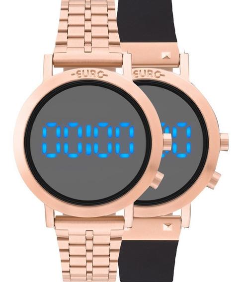 Relógio Euro Feminino Troca Pulseira Eubj3407ac/t4p