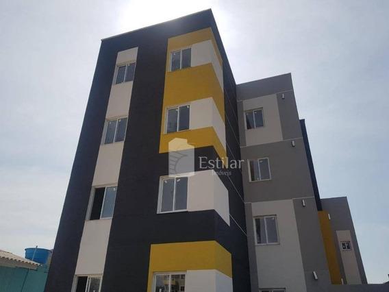Apartamento Com 2 Quartos No Cruzeiro - São José Dos Pinhais/pr - Ap2476