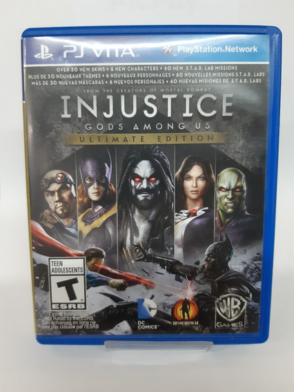 Jogo Injustice Gods Among Us Ultimate Edition Ps Vita