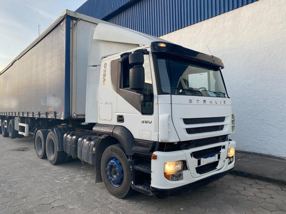 Iveco 380 Stralis Hd 6x2 Ano 2009 (490-s38t) =mb Volvo 1634