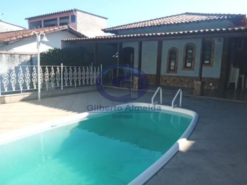 Casa 4 Quartos A Venda Na Taquara Com Piscina E Churrasqueira - J-61128 - 34427878