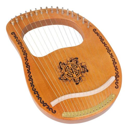 Lira Arpa Irlandés Celta Escocés 16 Cuerda De Metal