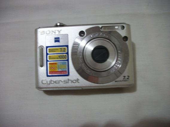Camara Fotográfica Cybert-shot Sony Dsc-w35 D 7.2 Megpixeles