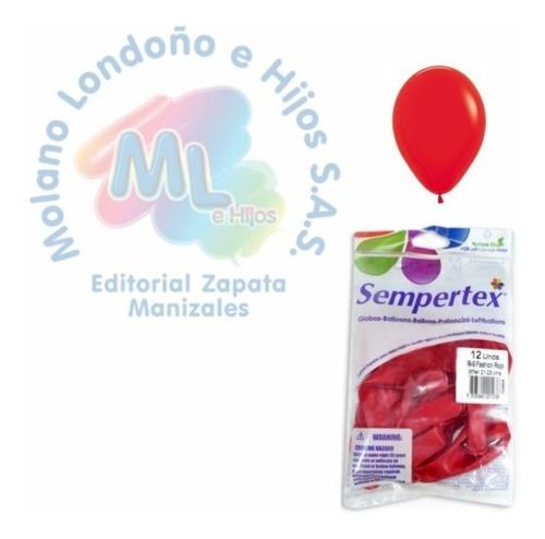 Bombas Sempertex R-9 Rojas X12