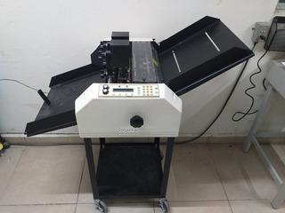 Maquina Para Foliar Y Perforar, Foliadora Imprenta Video
