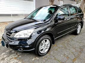 Honda Crv Exl 4x4 2011 Blindada Top - Teto + Couro