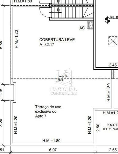 Imagem 1 de 20 de Cobertura À Venda, 128 M² Por R$ 870.000,00 - Jardim - Santo André/sp - Co5026