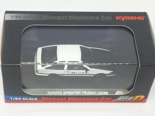 Kyosho Initial D Die Cast Miniature Car Toyota Sprinter 1:64