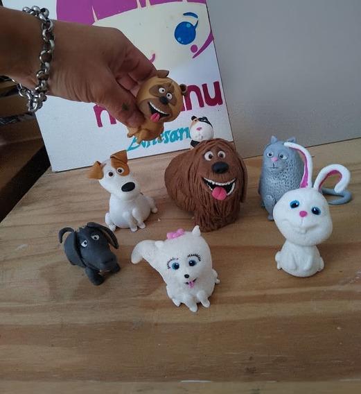 Pack Envío Incl.adorno Torta La Vida Secreta De Mis Mascotas