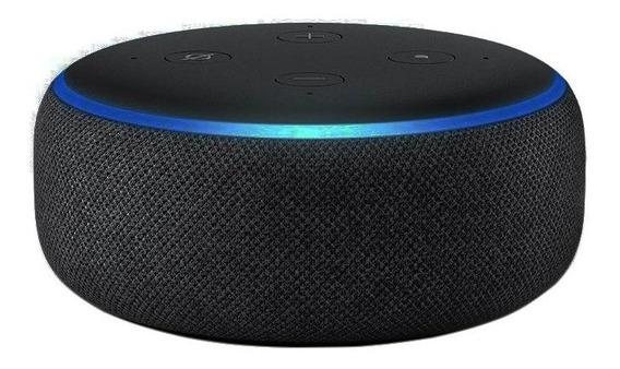 Echo Dot 3° Geração Alexa Amazon Speaker Na Caixa Lacrado