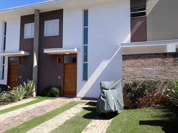 Casa Com 3 Dormitórios, 1 Suíte Varanda Goumert - Condominio