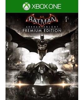Batman Arkham Knight Premium Edition / Xbox One / N0 Codigo