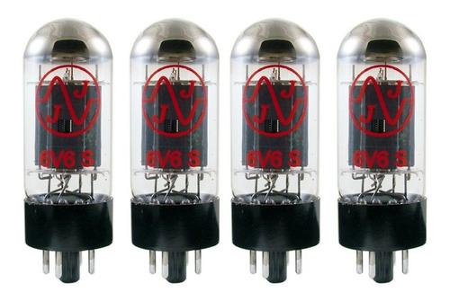 Imagem 1 de 4 de Valvulas 6v6 S Quarteto Casado Jj Eletronic Made Slovakia