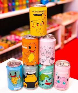 Pack 12 Bebidas Pokémon Importadas Asia - Dokkantienda