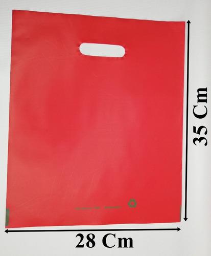 Kilo Bolsa Tipo Boutique 28x35 Cm Color Rojo