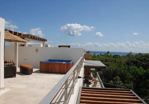 Se Vende Penthouse 2 Hab Via 38 Playa Del Carmen P1131