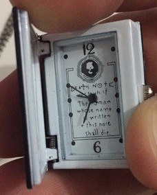 Relógio Pingente - Death Note - Frete Free
