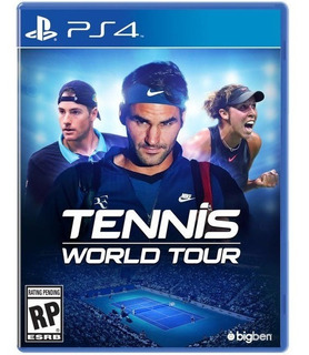 Ps4 Tennis World Tour Ps4 Nuevo Disponible