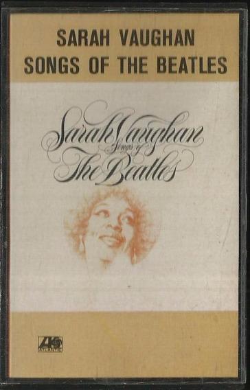 Fita K7 Sarah Vaughan Songs Of The Beatles 1981