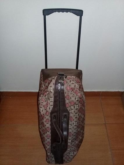 Maleta Viajera De Dama Tipo Bolso