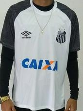 a1ccd41203f12 Camisa Santos Fc Treino no Mercado Livre Brasil