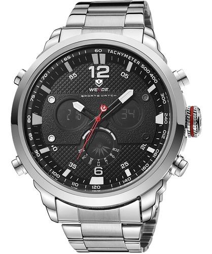 Relógio Masculino Weide Anadigi 10117