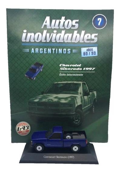 Autos Inolvidables Año 80/90 N°7 Chevrolet Silverado