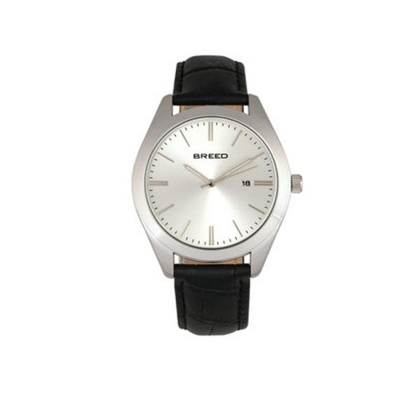 Modelo Varon Reloj Breed Louis Brd7901 - Negro Plata