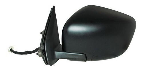 Imagen 1 de 1 de Espejo Retrov Izq Electr Negro Nissan Np300 Frontier Se 16-