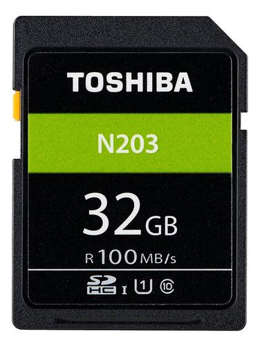 Cartão De Memória 32gb 100mb/s Sdhc Uhs-i Toshiba