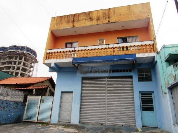 Casa Residencial Para Locação, Vila Galvão, Guarulhos. - Ca0631