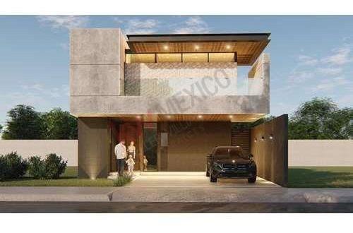 Casa En Venta Al Norte En Proyecto En Fraccionamiento Villa Foresta